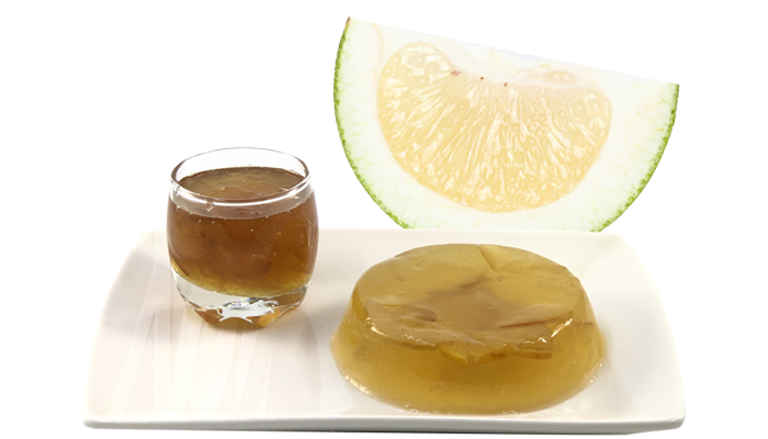 Pomelo Green Tea Jelly