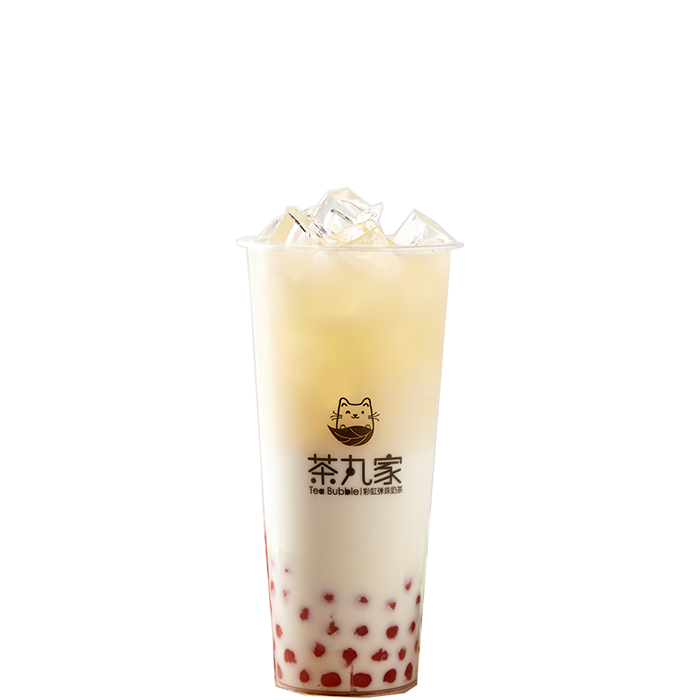 Four Season Green Milk Tea with Sakura Pearl